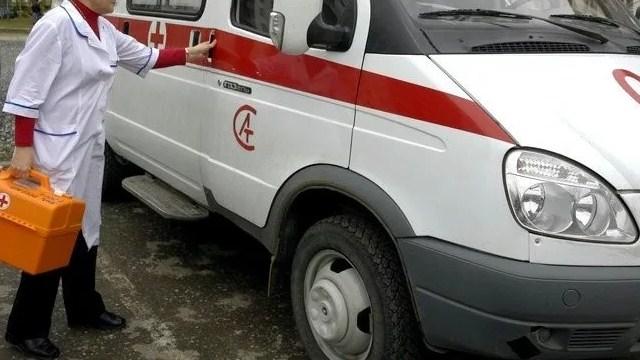 Во Фрунзенском районе Петербурга иномарка сбила женщину
