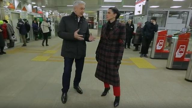 Сергей Собянин и Наиля Аскер-заде